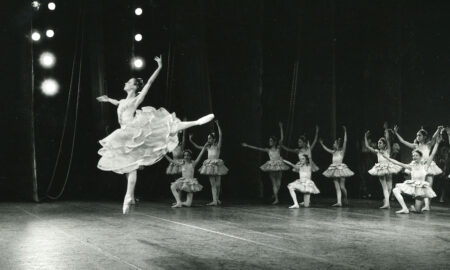New York City Ballet in 'Coppélia'. Photo by Susanne Faulkner Stevens.