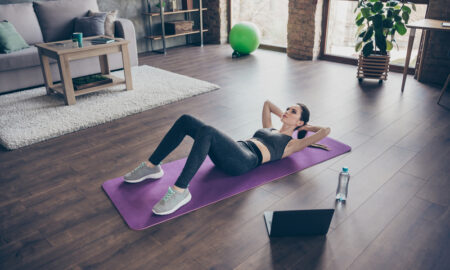 Pilates cross training at home