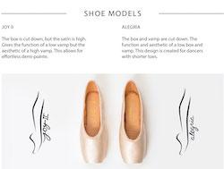 Só Dança Elektra Tech pointe shoes.