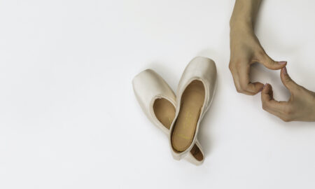 Só Dança Elektra Tech pointe shoes.