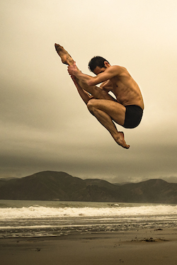 Angelo Greco in 'Icarus Short Film'.