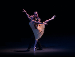 Lauren Lovette and Tyler Angle in Christopher Wheeldon's 'Carousel (A Dance)'. Photo by Rosalie O'Connor.