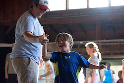 Families Dance Together. Photo by Grace Kathryn Landefeld.