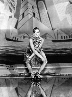 Josephine Baker dancing the Charleston at the Folies-Bergère, Paris 1926. Source Wikipedia