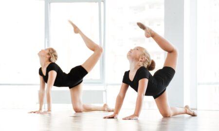 Return to acrobatics training
