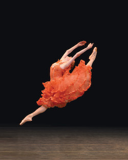 American Ballet Theatre's Gillian Murphy in 'Don Quixote'. Photo by Rosalie O'Connor.