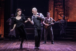 Amber Gray and Patrick Page in 'Hadestown'. Photo by Matthew Murphy.
