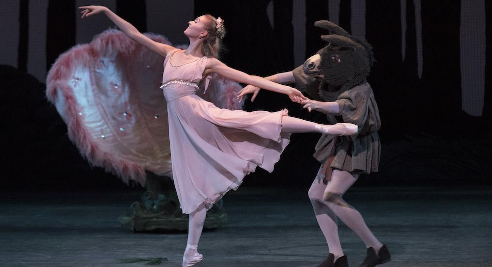 New York City Ballet in George Balanchine's 'A Midsummer Night's Dream'. Photo by Paul Kolnik.