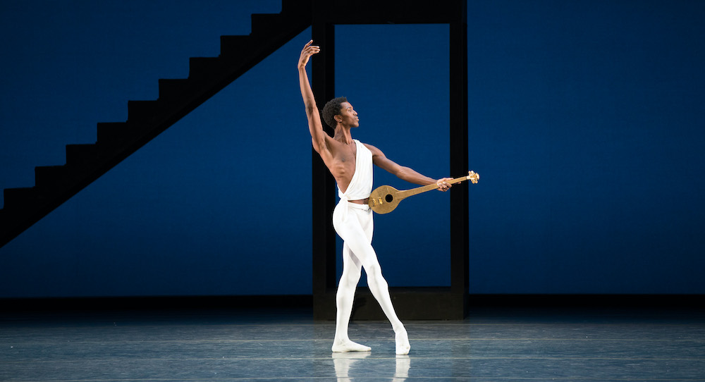 Calvin Royal III in Apollo. © The George Balanchine Trust. Photo by Rosalie O'Connor.