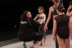 Rachel Brown teaching at Groove Dance Competition and Convention.