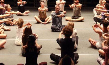 A Gaga movement class.