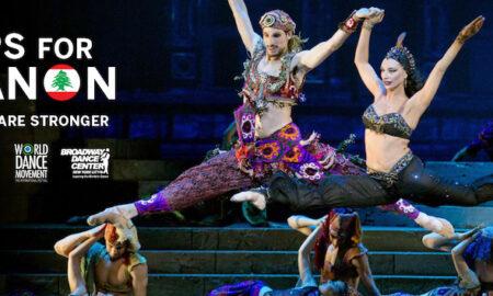 Broadway Dance Center's Leaps for Lebanon.