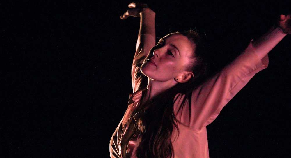 Amber Neff in New Chamber Ballet's 'Nocturne'.