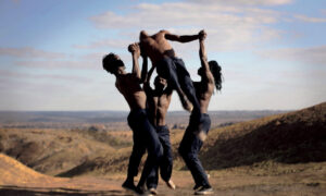 Antoine Panier's 'Making Men'. Photo courtesy of LA Dance Shorts Film Festival.