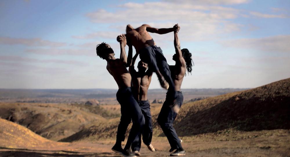 Antoine Panier's 'Making Men'. Photo courtesy of LA Dance Shorts Film Festival.