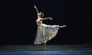 Devon Teuscher as Caroline in 'Jardin aux Lilas'. Photo by Rosalie O'Connor.