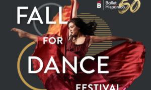Fall for Dance Festival.