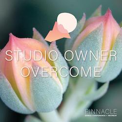 Studio Owner OVERCOME, a virtual conference.