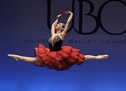 Universal Ballet Competition. Photo by Matthew Carby.