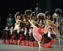 Cassandra Trenary as Princess Aurora in 'The Sleeping Beauty'. Photo by John Grigaitis.