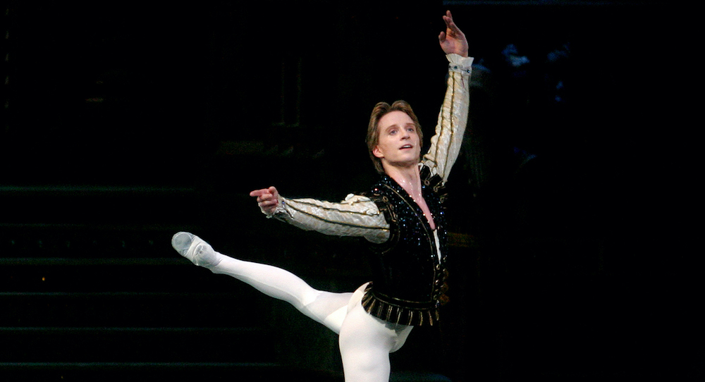 Ethan Stiefel in American Ballet Theatre's 'Swan Lake'. Photo by Rosalie O'Connor.