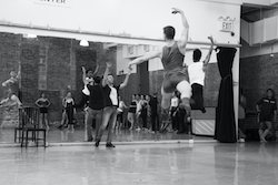 Igal Perry teaching at Peridance.
