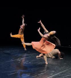 Paul Taylor Dance Company's John Harnage, Madelyn Ho and Lisa Borres in 'Esplanade'. Photo courtesy of Paul Taylor Dance Company.