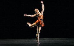 Paul Taylor Dance Company's Madelyn Ho in 'Syzygy'. Photo by Paul B. Goode.