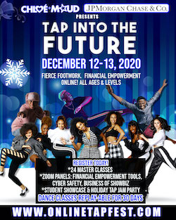 Tap into the Future!, an online tap intensive.