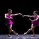 Boston Ballet's Lia Cirio and Viktorina Kapitonova in William Forsythe's 'Playlist (EP)'. Photo by Angela Sterling, courtesy of Boston Ballet.
