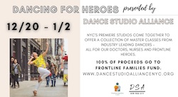 'Dancing for Heroes' presented by Dance Studio Alliance NYC.