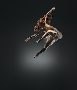 Alonzo King LINES Ballet's Madeline DeVries. Photo by RJ Muna.
