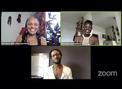Black Dance Stories with Charmaine Warren, Okwui Okpokwasili and Kyle Marshall. Photo courtesy of Black Dance Stories.