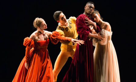 Limón Dance Company's 'The Moor's Pavane'. Photo by Christopher Jones.