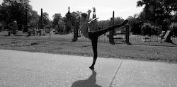 Complexions Contemporary Ballet's Maxfield Haynes.