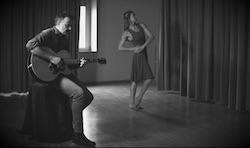 Daniele Gozzetti and Abby Silva Gavezzoli in 'Blues Run the Game'.