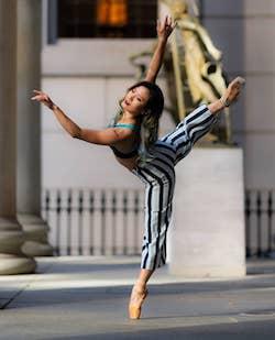 Arch Ballet dancer Aoi Ohno. Photo by Esta Vida Photography.