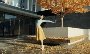 Jasmine Jimison in Myles Thatcher's 'COLORFORMS'. Photo courtesy of San Francisco Ballet.