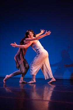 Kristen Klein and Elisabeth Wolf. Photo by David Ovitsky.