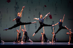 San Francisco Ballet in Alexei Ratmansky's 'Symphony #9'. Photo by Erik Tomasson.