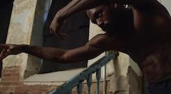 Dance film 'Wandering'.