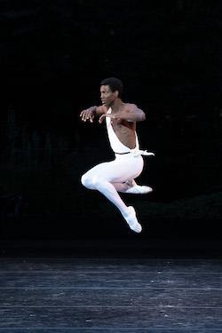 ABT's Calvin Royal III in George Balanchine's 'Apollo'. Photo by Christopher Duggan.
