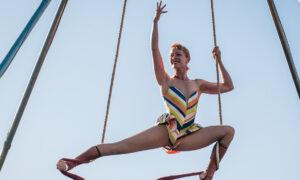 Abigail Munn of Circus Bella. Photo by Ron Scherl.