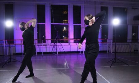 Emily Bufferd (left) teaching at Steps on Broadway. Photo courtesy of Steps.