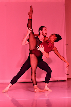 Lauren Anthony and Brian Heil in Carly Topazio's 'An Intro to Nothing'. Photo by Anna Scippione.