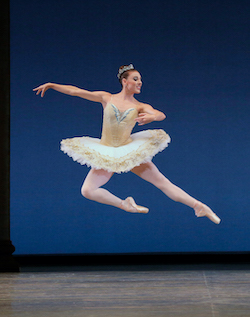 Tiler Peck in George Balanchine's 'Theme and Variations'. Photo by Paul Kolnik.