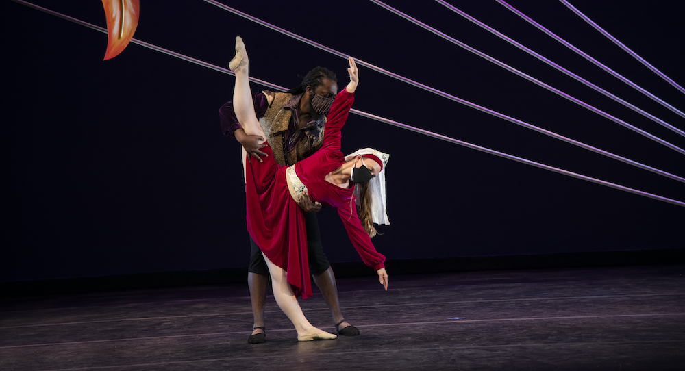 Abilities Dance Boston in 'Firebird'. Photo by Mickey West Photography.