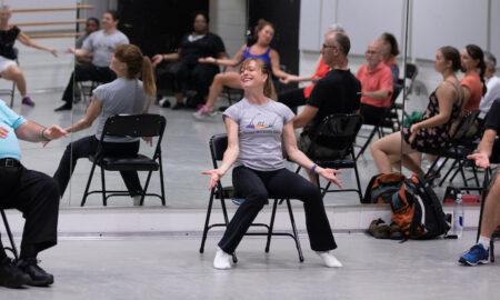 Bowen McCauley Dance's Dance for PD class. Photo by David Moss.