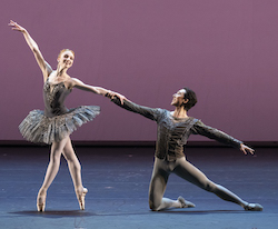 Catherine Hurlin and Sung Woo Han in 'Grand Pas Classique'. Photo by Todd Rosenberg Photography.