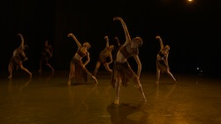 Chanel DaSilva's 'Borders'. Photo courtesy of The Joffrey Ballet.